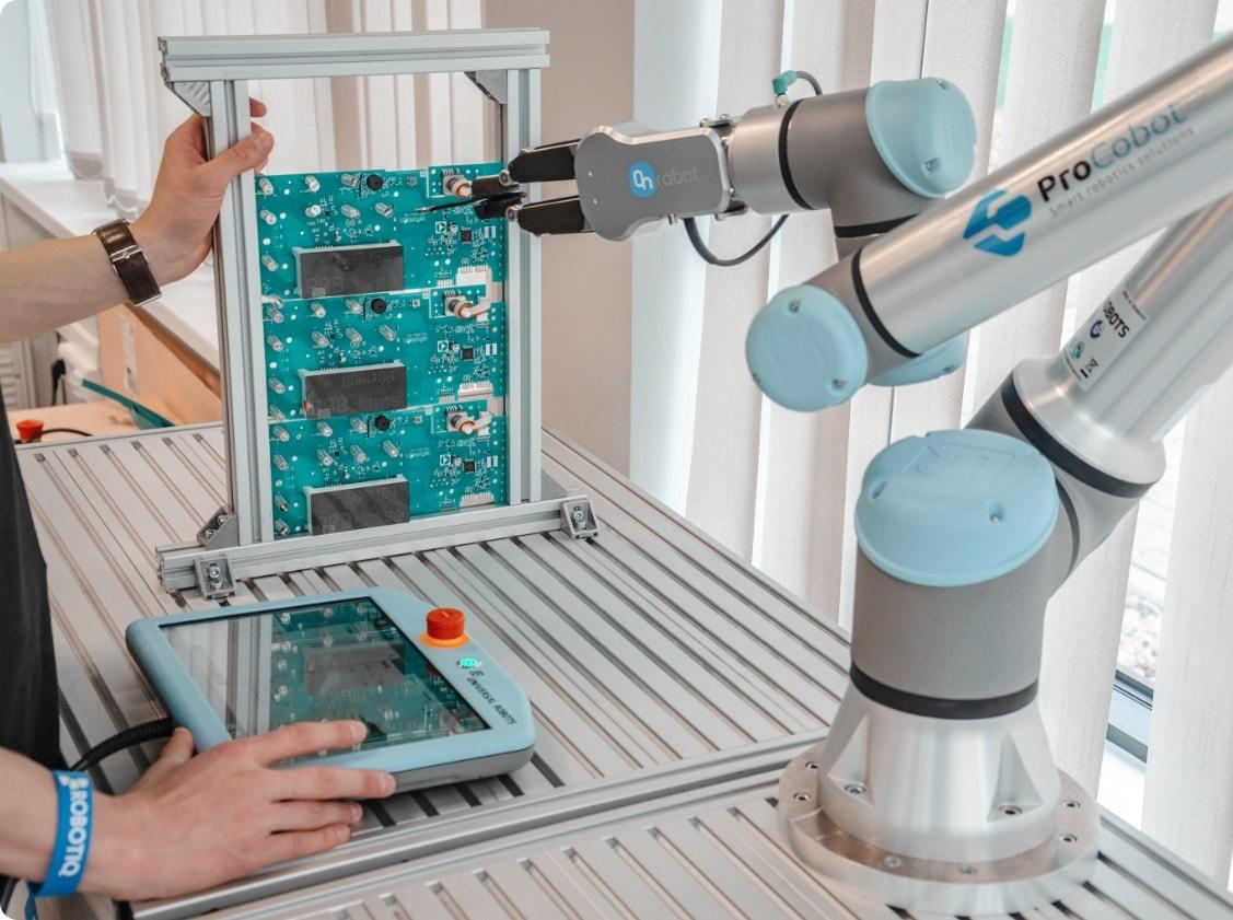 Prezentacja robota procobot