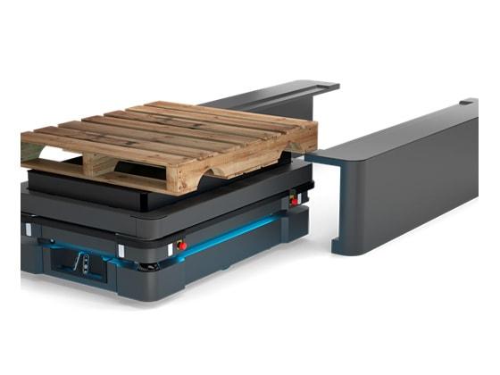 Robot MiR Lift Pallet Rack