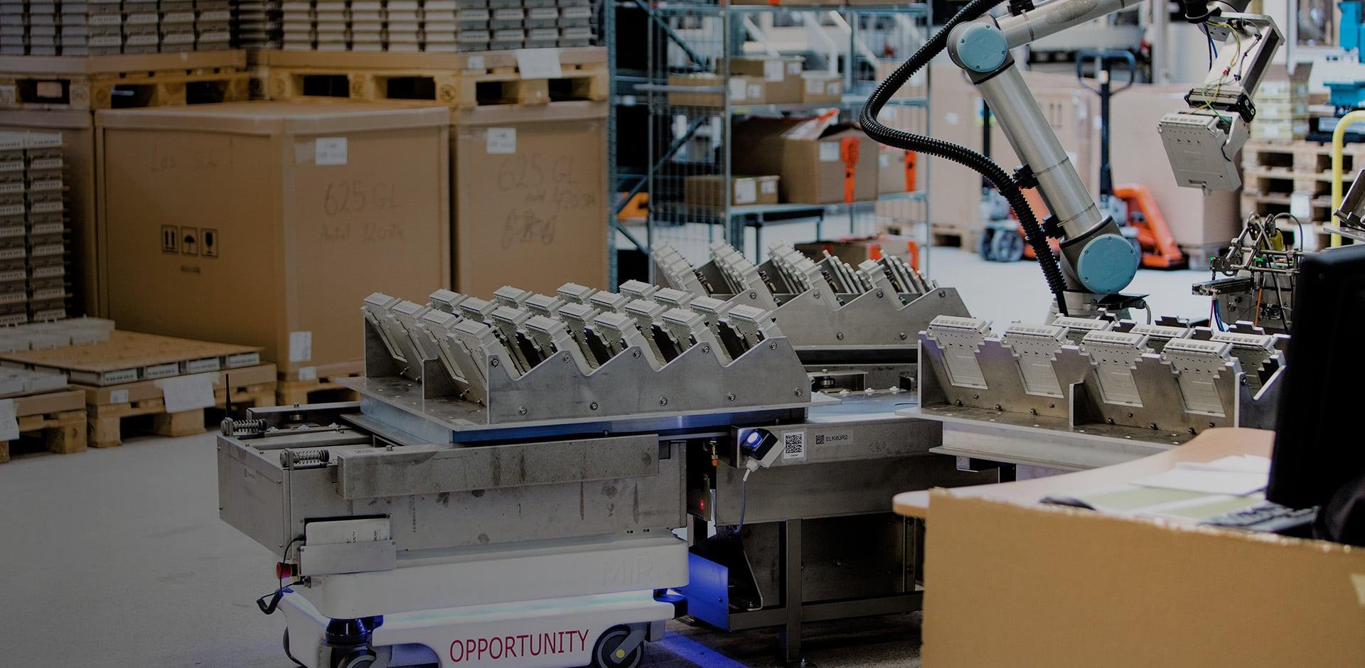 Automatyzacja produkcji, zastosowanie cobotów