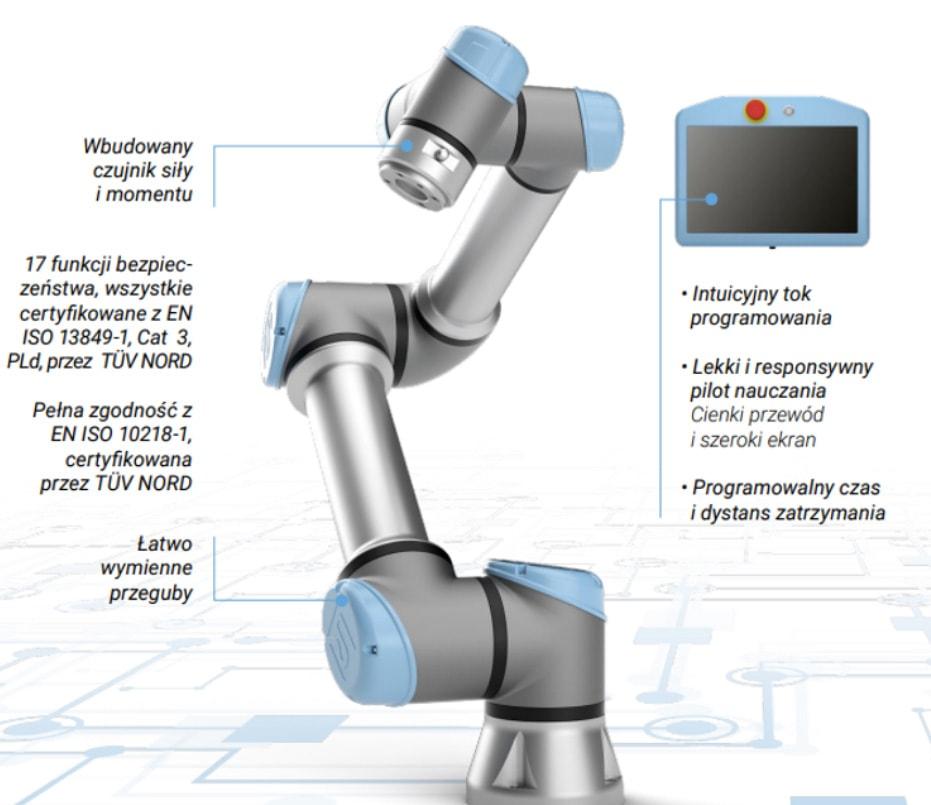 Bezpieczeństwo robotów UR