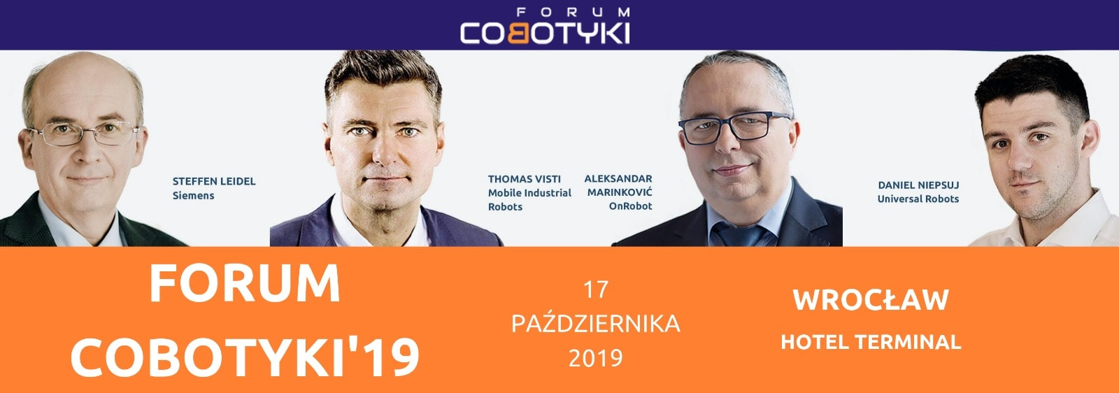 Forum Cobotyki prelegenci