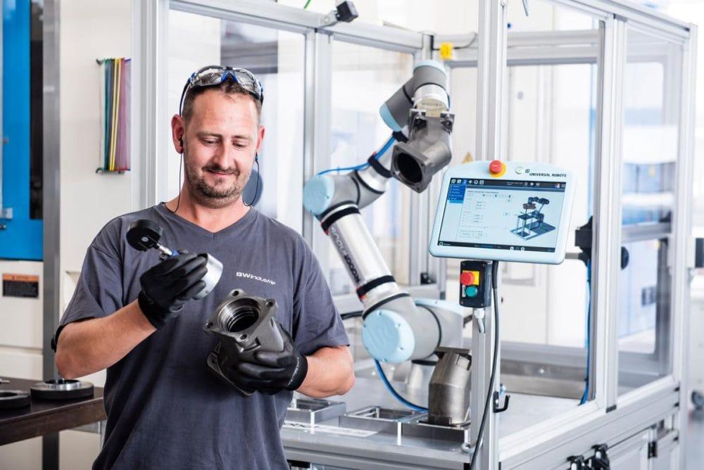 Zalety ramienia robotycznego UR16e