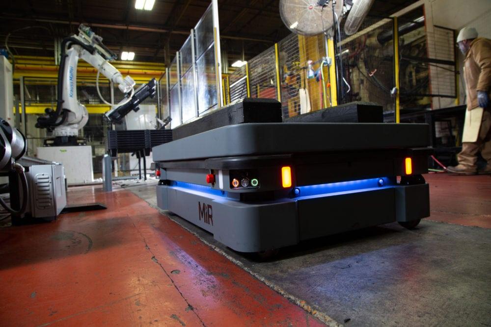 MiR500 robot autonomiczny zastosowania