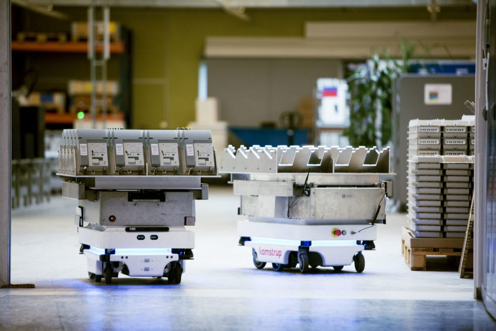 Zalety robota autonomicznego MIR100