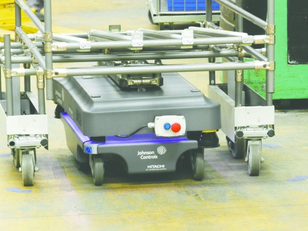 MiR200 robot autonomiczny dane techniczne