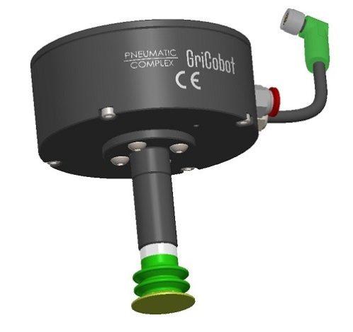 Gricobot.0 chwytak podciśnieniowy z jedną ssawką