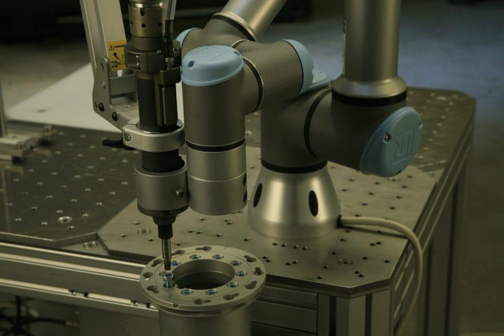Robot współpracujący UR3 zastosowanie