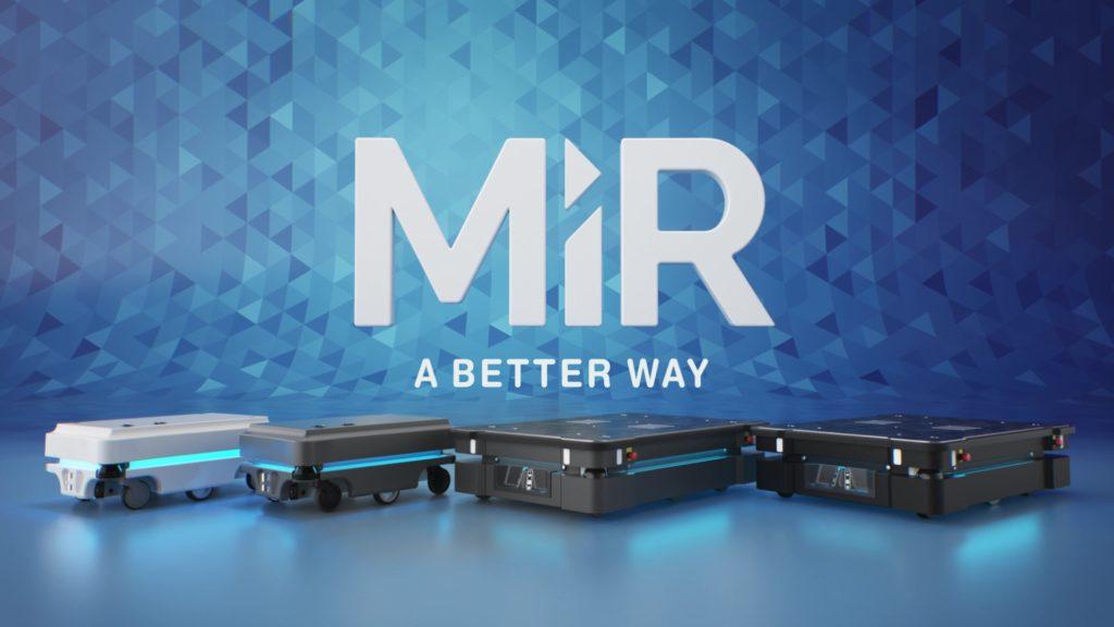 Projekt z robotami MiR