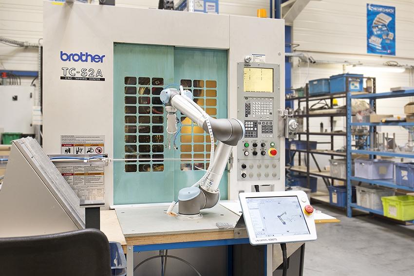 Zastosowanie ramienia robotycznego UR5e