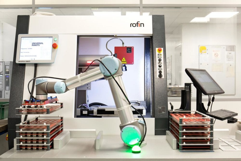 Zalety ramienia robotycznego UR3e