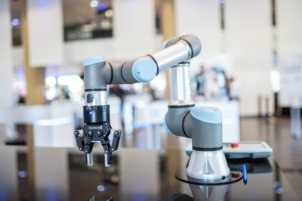 Współpracujące ramię robotyczne UR3e