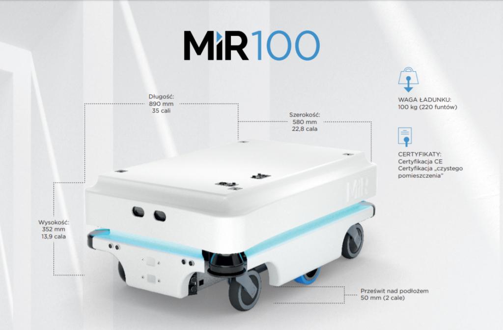 MIR100 robot autonomiczny