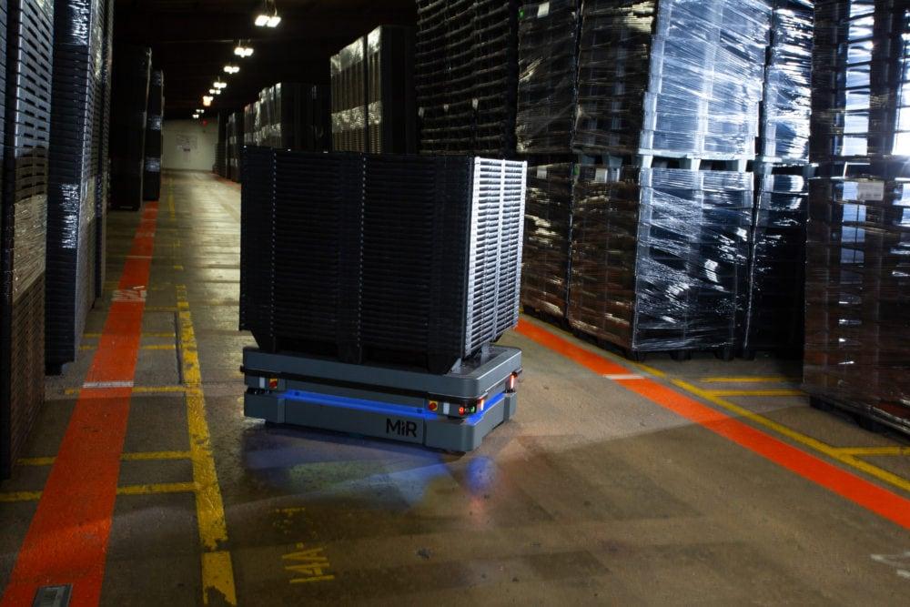 MiR500 robot autonomiczny zalety wykorzystania w firmie