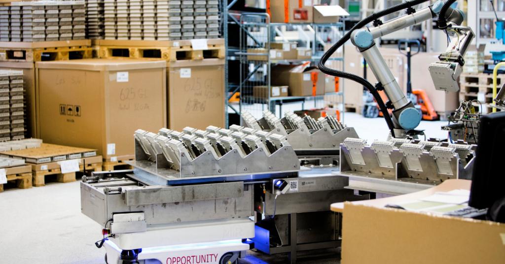 Roboty współpracujące - automatyzacja przemysłu