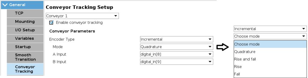 Enkoder inkrementalny na stanowisku
