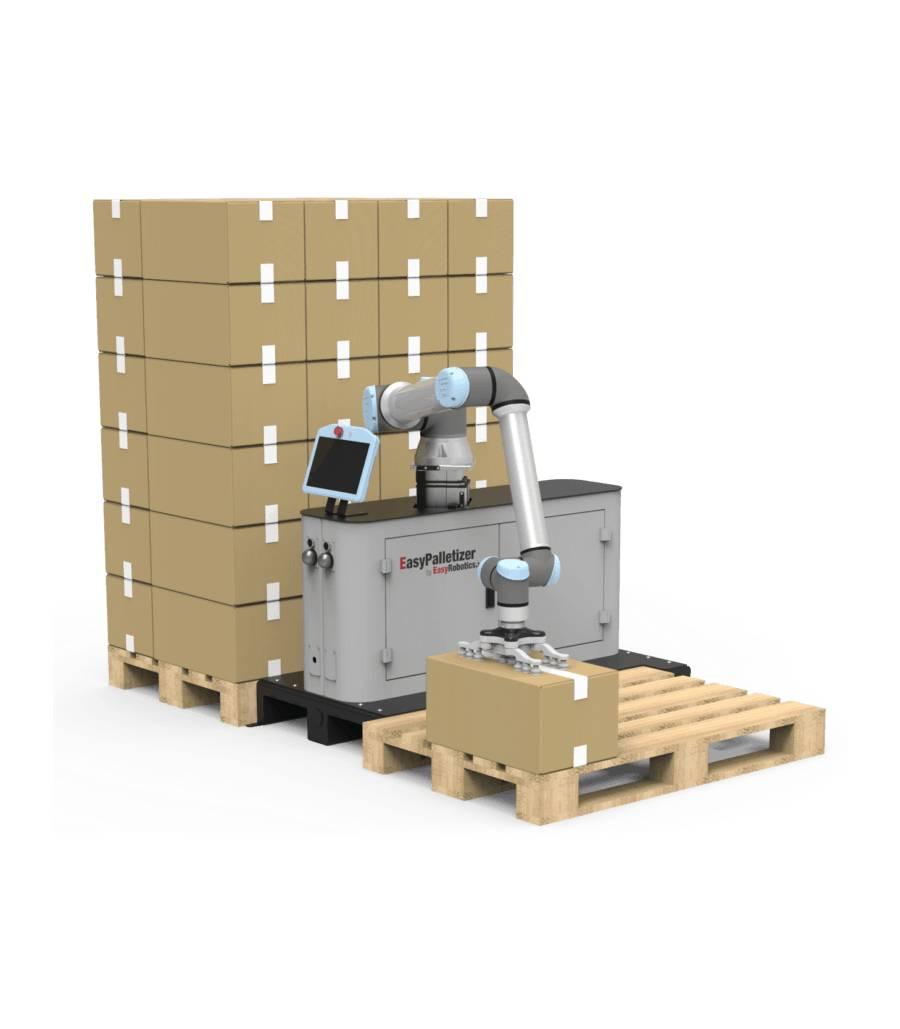 Easy Palletizer platforma do paletyzacji i pakowania